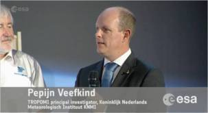 So impressive to see my employer & Co-Promotor Dr. Pepijn Veefkind, Pinripal Investigator (PI) of TROPOMI in live on TV