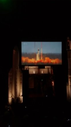 Sentinel-5 P takes off in live in front of our eyes in Russia! What a noise!!