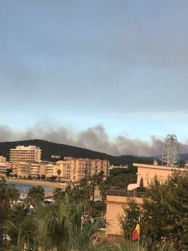 Mediterranean French coast area. (Source: http://www.telegraph.co.uk/news/2017/07/26/wildfire-hits-southern-france-forcing-10000-evacuations/)