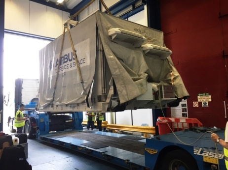 S5P leaves UK