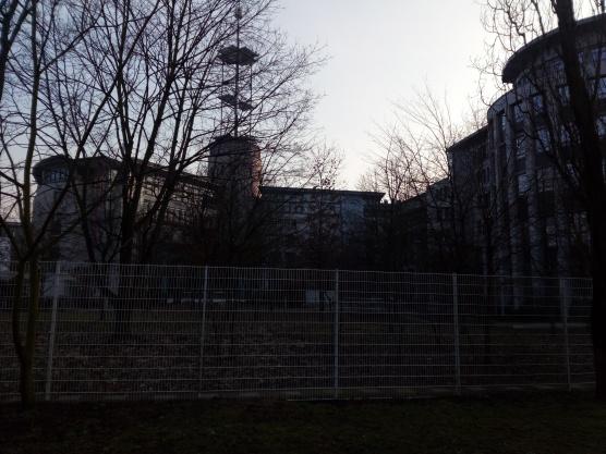 EUMETSAT premises from outside.