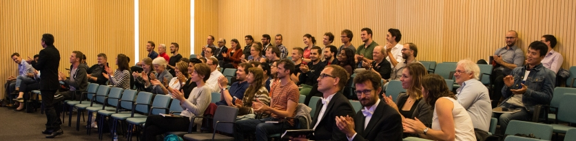 A great audience for this big day! Credit for all the pictures: Dr. Tim Vlemmix